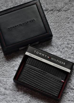 Tommy hilfiger кошелек, кожа, оригинал.
