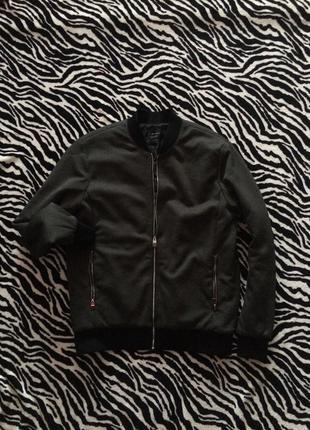 Оригинальная куртка-бомбер zara man
