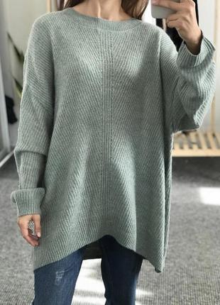 Теплый оверсайз свитер tu 42