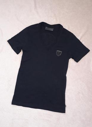 Новая элитная чёрная футболка с черепом от philipp plein p.s