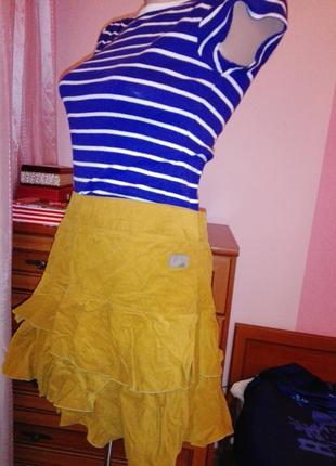 Супер юбка вельветовая от tom tailor