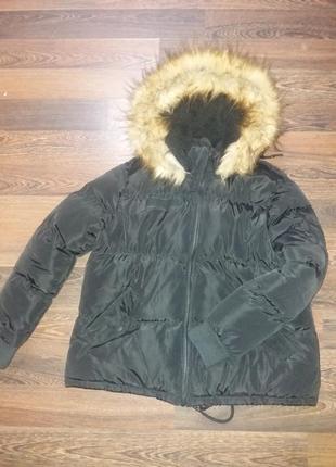 Классная зимняя теплая куртка