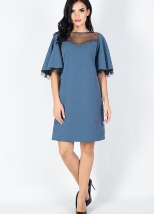 Яркое , нарядное дизайнерское платье , 42 европ. размер