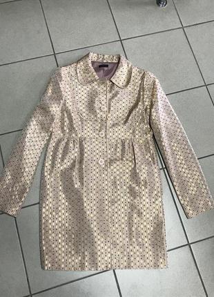 Пальто тренч фирменный ethic размер 36 или s