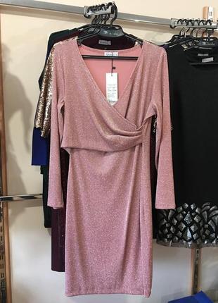 Яркое , коктейльное , дизайнерское платье , 44 европ. размер