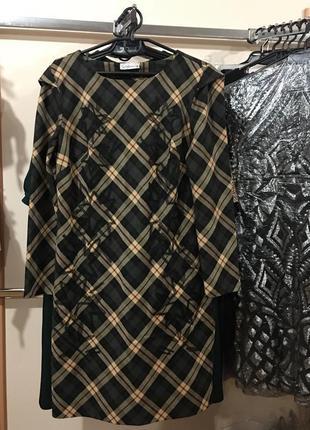 Повседневное платье , дизайнерское , 44 европ. размер