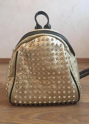 Рюкзак сумка клатч кросбоди кожаный рюкзачок