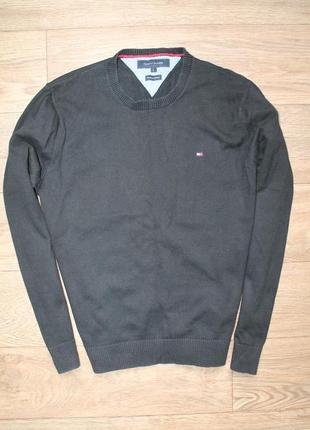 Стильный свитерок tommy hilfiger premium cotton м размер