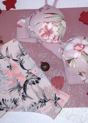 Комплект белья victoria's secret pink