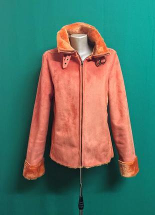 Демисезонная куртка под дубленку amisu