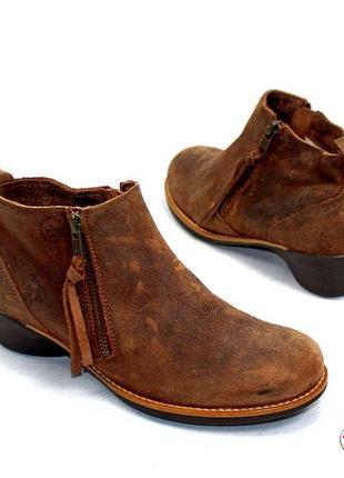 Кожаные ботинки tbs 37,5 р оригинал франция