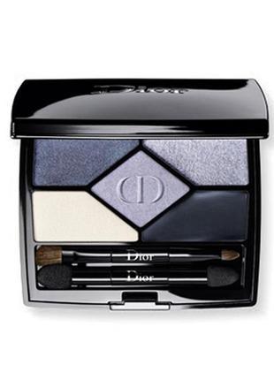 Новинка! тени для век christian dior designer 5-colour palettes # 008 smoky design