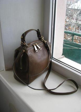 Кожаная сумка joop