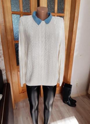 Вязаный свитер,