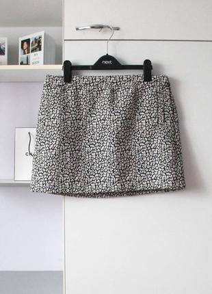 Плотная юбка от mango