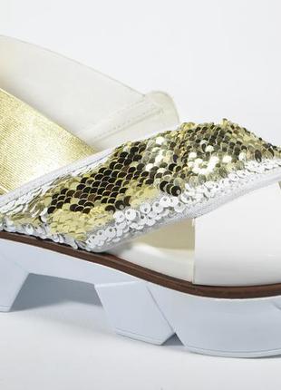 Стильные босоножки aquamarin   новая модель