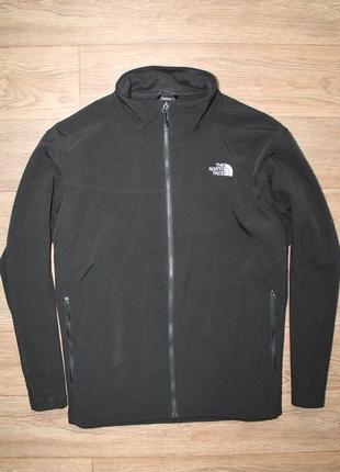 Оригинальная курточка softshell/подклад  the north face ххл размер