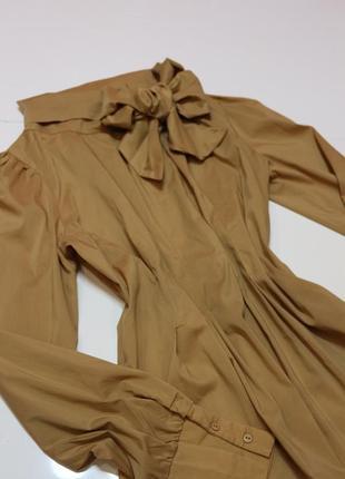 Фирменная шикарная блуза с бантом
