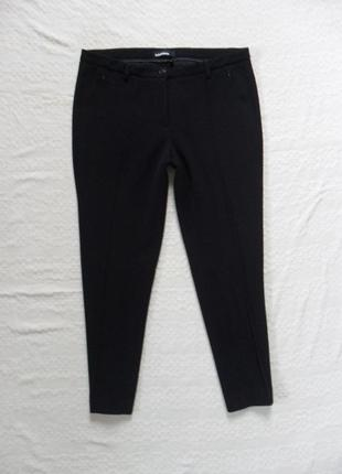 Плотные черные штаны брюки со стрелками cambio, 16 размер.