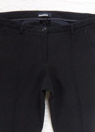 Стильные черные штаны брюки со стрелками cambio, 16 размер.5 фото