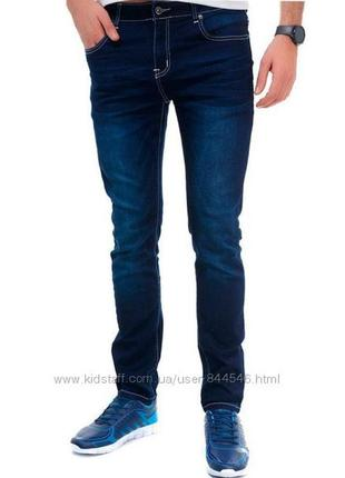 Модные зауженные мужские джинсы