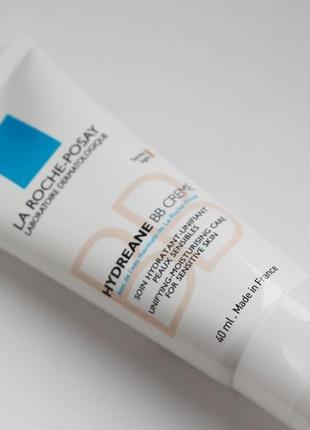 La roche-posay hydreane bb cream увлажняющий bb крем для чувствительной кожи.