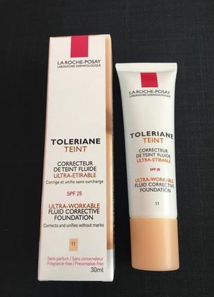 La roche-posay toleriane teint make up fluid корректирующий тональный крем