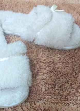 Комфортные домашние тапочки женские tu  (англия)
