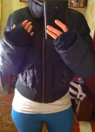 Коротенькая куртка терранова размер 42 - 44