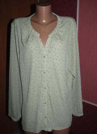 Блуза большой р-р 18 бренд hema