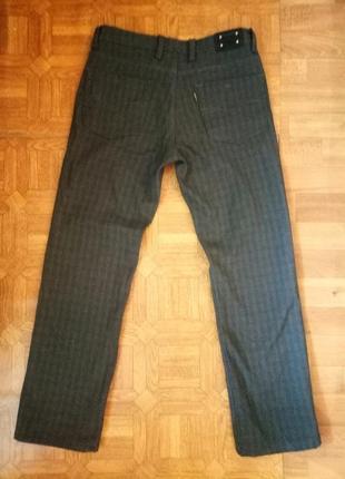 Мужские зимние утепленные штаны на флисе