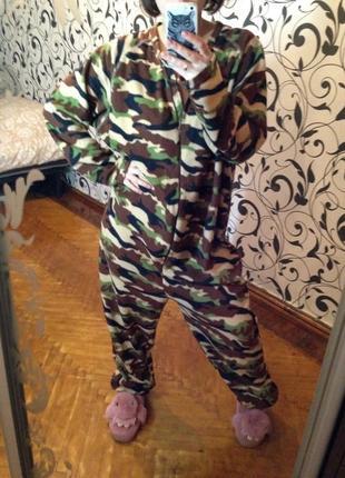 Комбинезон домашний,кигуруми,комбинезон на флисе,пижама