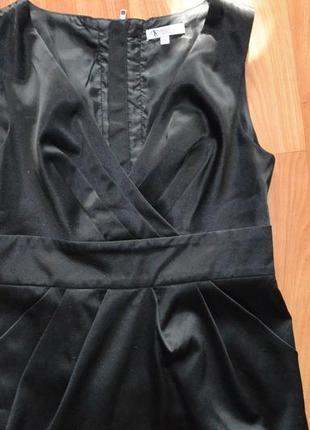 Сарафан платье офисное деловое строгое классическое черное школа офис4 фото