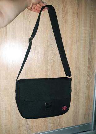 Классная тканевая сумка с длинной ручкой roxy