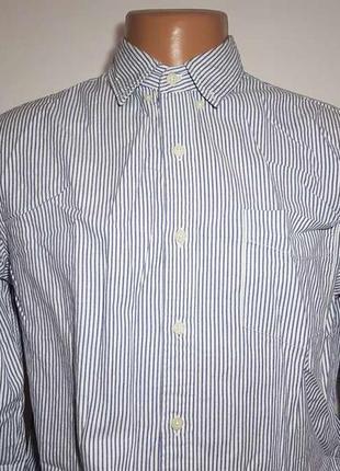 Рубашка american brand, 100% хлопок, m, как новая!