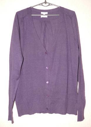 Шикарная кофта большой размер 100% шерсть мериноса (merino wool)