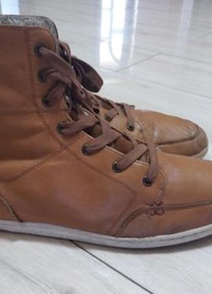 Кожаные ботинки на меху young spirit. 30см