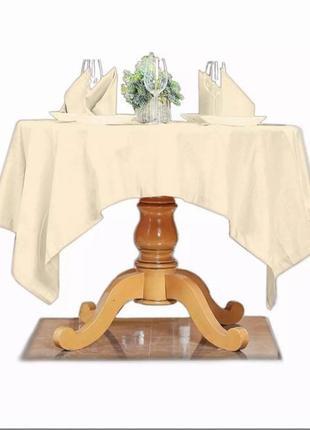Новый столовый набор, скатерть и 4 салфетки domikus, 100% хлопок