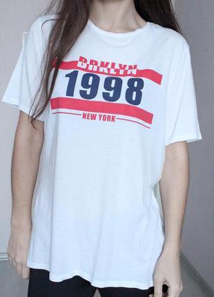 Белая футболка h&m 36 38 размер