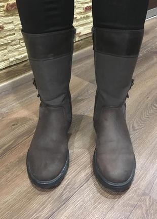 Ботинки сапоги clarks