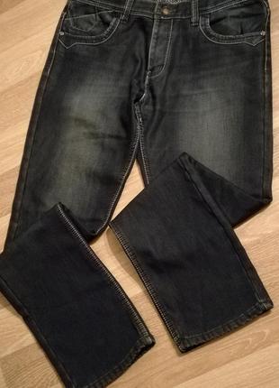 Утепленные джинсы на флисе  w36 l34