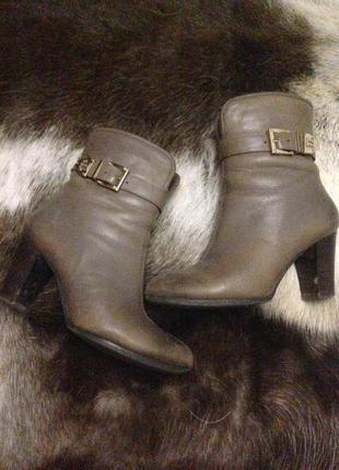 Ботинки зимние натуральный мех и кожа