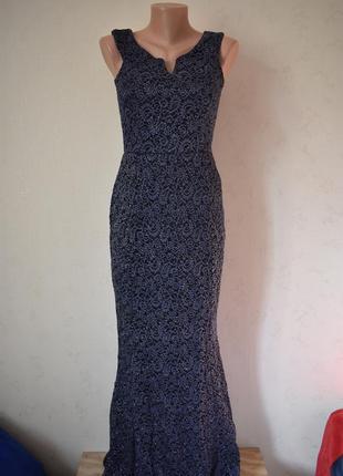 Новое шикарное блестящее платье