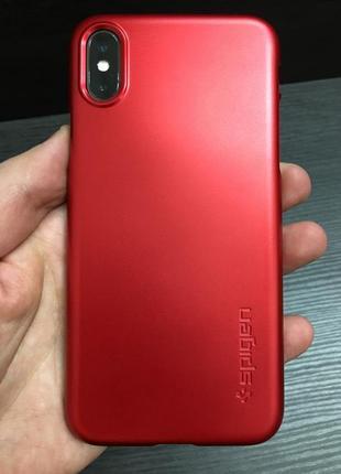 Оригинальный чехол spigen thin fit для iphone  x xs