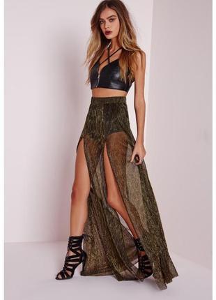 Шикарная юбка-шорты missguded хs-s