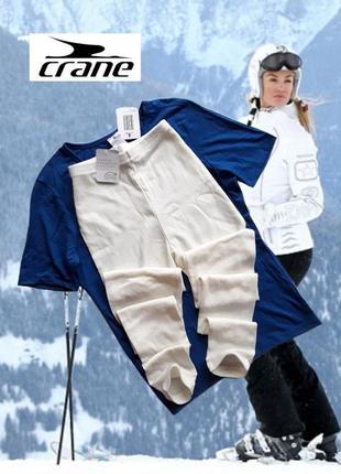 Комплект женского шерстяного термобелья  crane