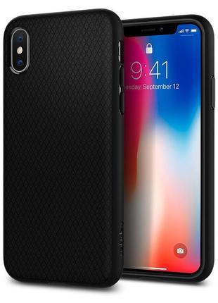 Оригинальный чехол spigen liquid air для iphone x xs новый