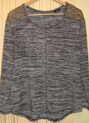Меланжевый свитер f&f