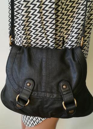 Кожаная сумка cross-body