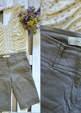 !!!окончательная распродажа!!! удлиненные шорты в стиле сафари e-vie